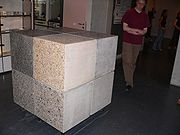 size of cubic meter by www.wikipedia.org
